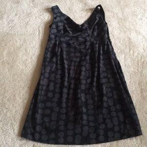 Gap maternity dress polka dot S